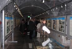 Blick in die Ausstellung am Obersalzberg