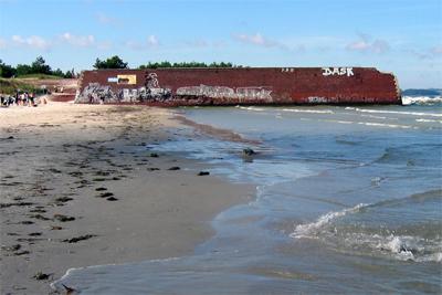 Kaimauer von Süden