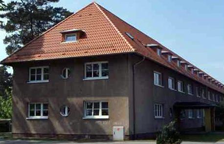 Wohngebäude der Angestelltensiedlung