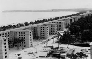 """Rohbau der Bettenhäuser des """"KdF-Seebades"""" Prora 1939"""
